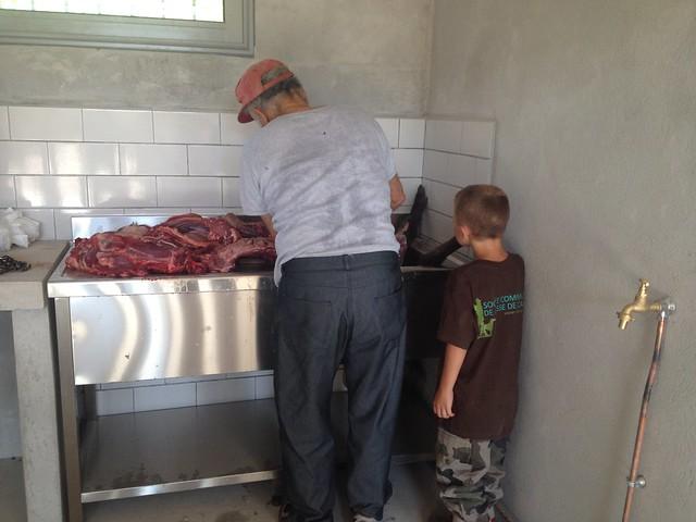 Le local de chasse permettra de répondre aux règles d'hygiène de venaison.