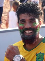 A winning smile (Shahireh) Tags: ایران 2014 صورت لبخند فوتبال جام جهانی jamejahani عکسهایشهیره جامجهانی2014 ایرانوآرژانتین جامجهانیبرزیل طرفدارانفوتبال