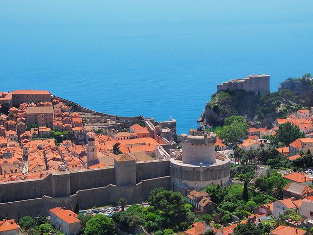 由纜車站上回拍Dubrovnik