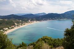 Agios Georgios (An Italian Girl at Heart) Tags: agiosgeorgios corfu greece bay sea ocean resort landscape seascape