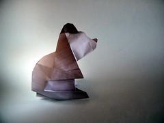 Osito - Andrs Lozano (Rui.Roda) Tags: origami papiroflexia papierfalten bear ours urso oso osito andrs lozano