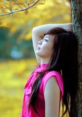 [フリー画像] 人物, 女性, アジア女性, 横顔, 201106100900