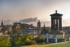 Summers Night in Edinburgh - Explored