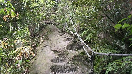 皇帝殿登山步道_08_準備開始攀岩了_2011_05_07