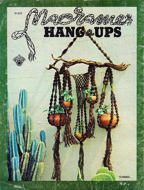 Phoenix plant hanger Macrame Hang-Ups 1973