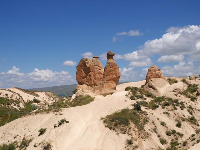 Zelve Acik Have Museum - 狀似駱駝的巨石