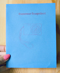 Summer Snapshot Book - Front Cover
