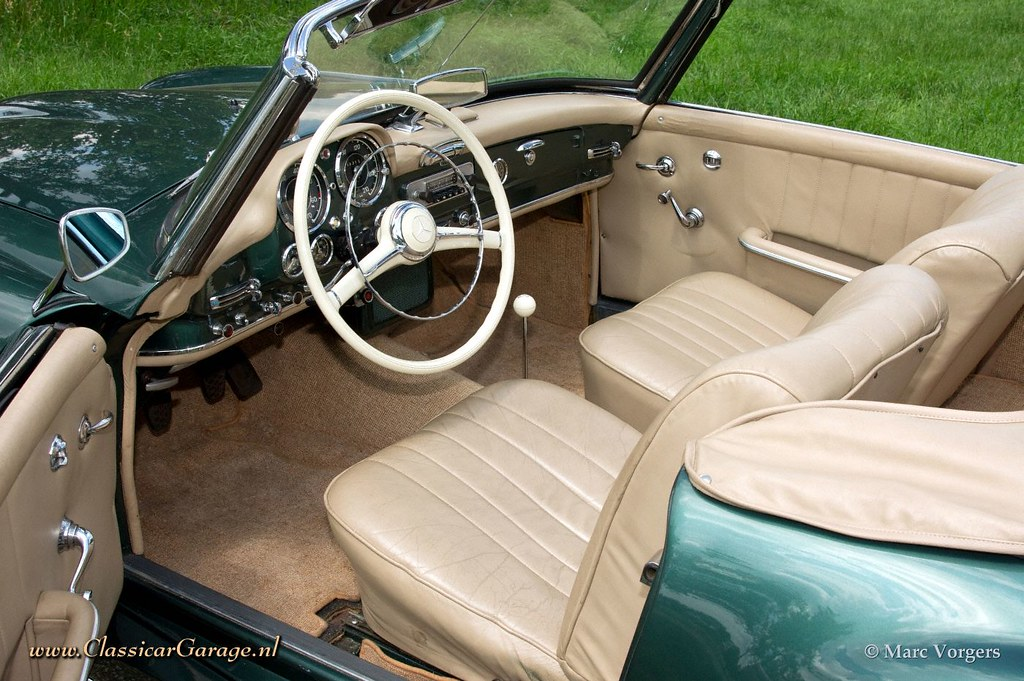 The world 39 s best photos of groen and mercedes flickr for Interieur mercedes 190