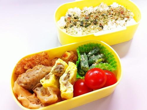 今日のお弁当 No.191 – 海苔わさび