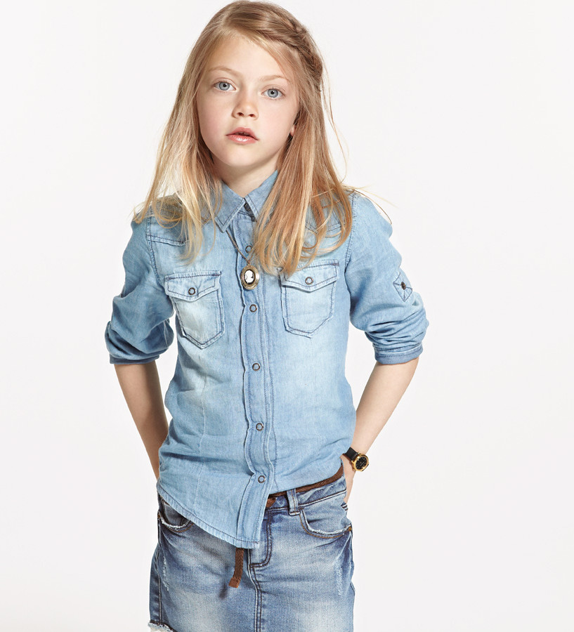 denim on denim for kids