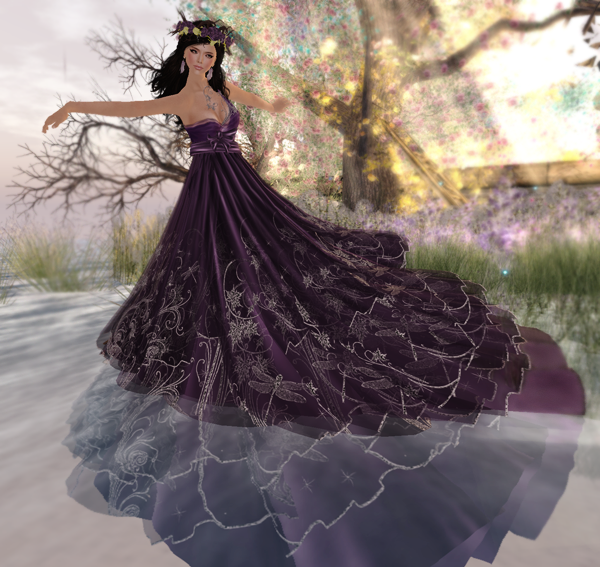 PurpleMoon - Titania Gown & Crown
