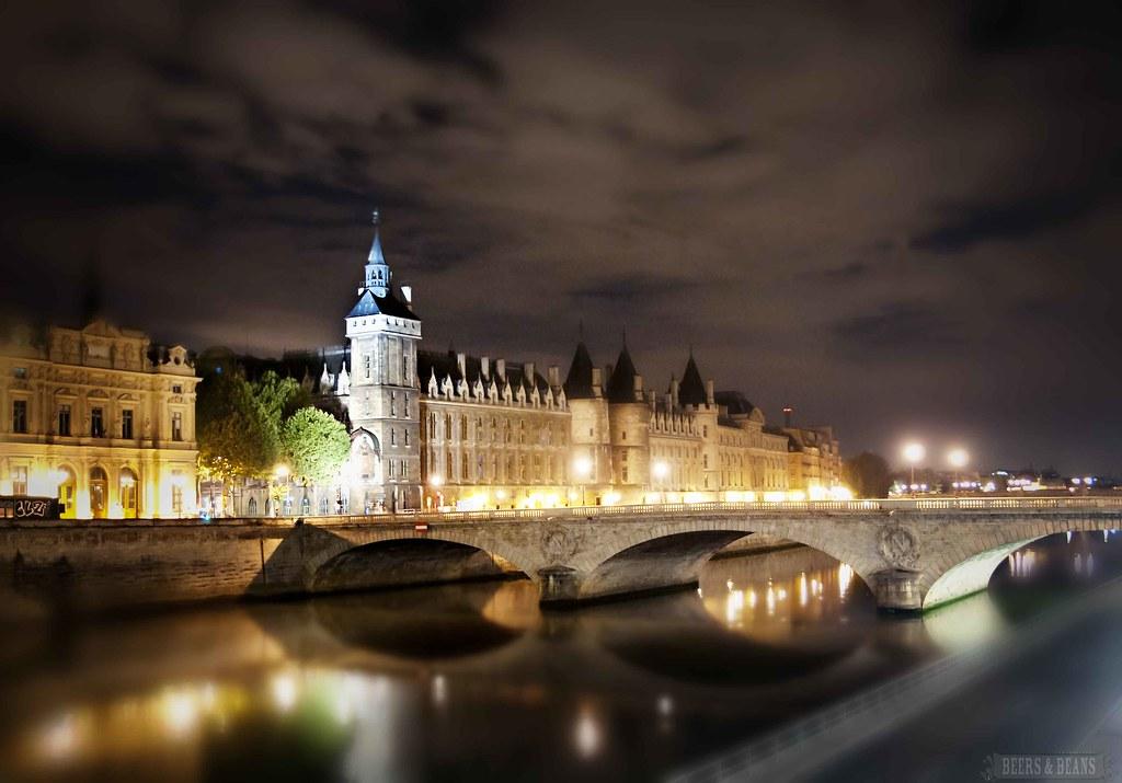 Paris at Night - The Seine