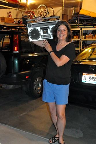 172 - Debbie's 80's Boom Box by carolfoasia