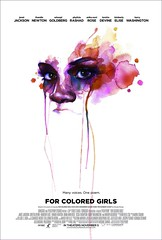 2011最佳劇情電影海報 - For Colored Girls 有色女孩!
