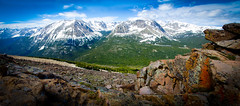 untitled (MattGerlachPhotography) Tags: panorama white snow june amazing view bluesky awe majestic capped mountians rockymountainnationalpark majesty trailridgeroad 2011 mattgerlachphotography