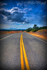 Road to nowhere... (Pradnyesh) Tags: road clouds infinity journey wa sanjuanislands