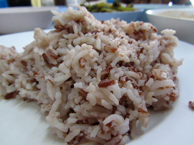 Bown Rice at Arawy
