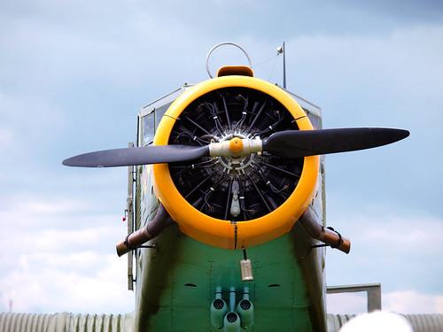 Junkers-JU52 by Fotosilber