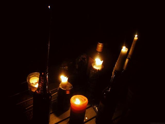 Rock am Ring 2011 - Kerzenschein bei Nacht