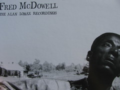 Fred McDowell LP detail