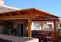 The world 39 s most recently posted photos of porches and - Pergola terraza atico ...