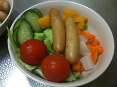 朝食サラダ(2011/7/7)