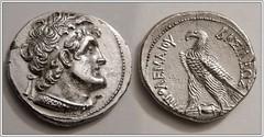 Ptolemy VI Philometer/ VIII Euergetes (mihali84) Tags: silver egypt cyprus viii vi ptolemy tetradrachm euergetes philometer