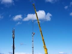 (turgidson) Tags: ireland tower station mobile radio studio lens four lumix site constructi