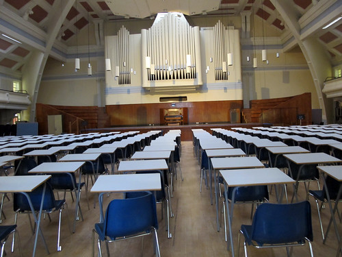 Exam time at Goldsmiths by Rain Rabbit, on Flickr