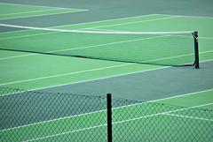 Line calling (Squatbetty) Tags: net lines tennis saltaire tenniscourt