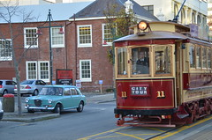 L'ancien tram propose des visites touristiques du centre ville