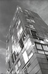 Graphic (george.bremer) Tags: nyc usa newyork film architecture modern nikon manhattan ilfordfp4 fm2n caffenol vuescan coolscaniv mir24n highlinepark
