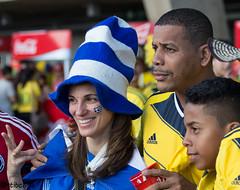 Mujeres en la Copa Mundial de la FIFA 2014 (stibcasa) Tags: brasil football team colombia stadium fifa grecia fans worldcup futbol estadios horizonte belo balon 2014 equipos hinchas mineiro worldcup2014 worldcupbrasil2014