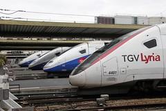SNCF 4401 728 712 en 229 Paris Gare de Lyon 03-04-2014 (Spoorhaar) Tags: paris station gare parijs tgv nvbs lyria stroomlijn