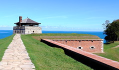 Ft. Niagara Blockhouse and Magazine (Jay Costello) Tags: war history americanrevolution warof1812 british fort oldfortniagara newyork colonial colony ny