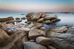Oxygen (D a n i V a l d  s) Tags: beach costabrava canon 6d landscape landscapes sea longexposure paisaje mar paisajes water rocks love peace calm relax