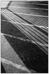 Intersections (Pascal.M (bong.13)) Tags: pujaut france provence lignes lumire ombre gard graphisme graphique sonyrx100 street soleil abstrait noiretblanc blackandwhite