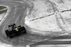 Jarno Trulli in the race (2011 Team Lotus photo archive) Tags: canada june 11 f1 formulaone xxx formula1 gp cdn