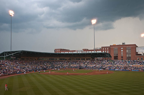 Not The Best Weather For Baseball