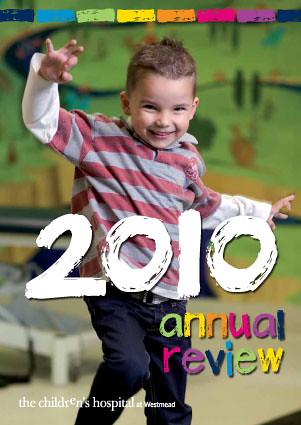 The cover of Annual Review 2010