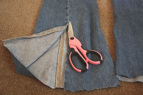 cut up seam