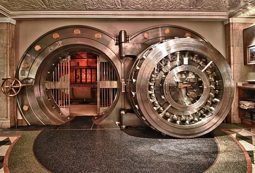 bank vault HDR