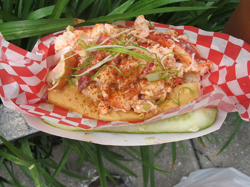 The true lobster roll