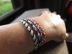 Iron Craft Challenge #26 - Beaded Friendship Bracelets