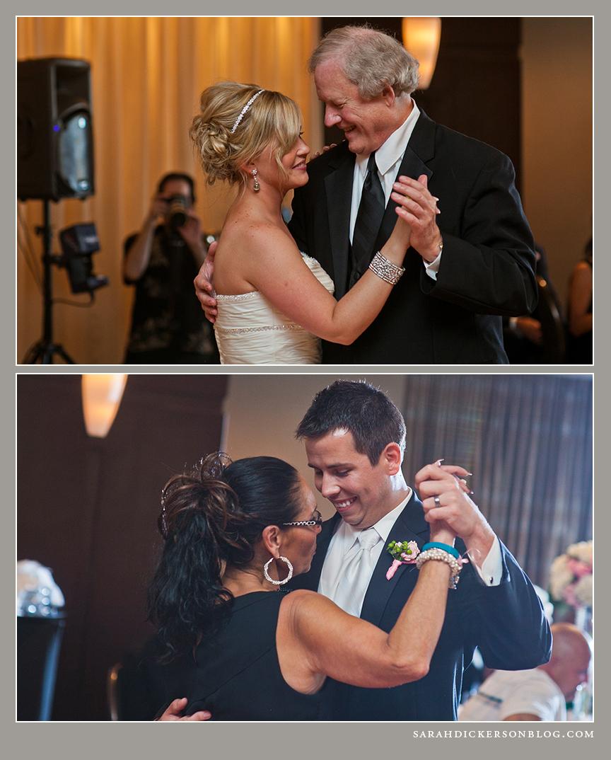 Crowne Plaza Kansas City wedding reception photographer