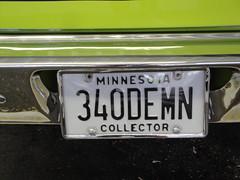 72 Dodge Demon 340 (DVS1mn) Tags: two cars car seventy dodge mopar 1972 72 nineteen wpc walterpchrysler chryslercorporation nineteenseventytwo