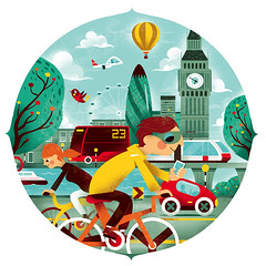 Magazine illustration (Lindedesign) Tags: travel editorialillustration