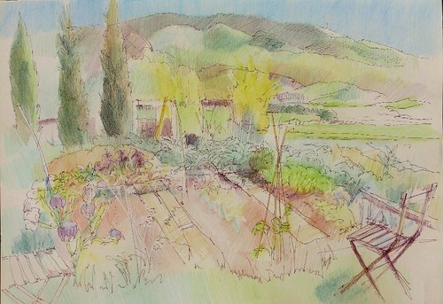 A potager in Provence by makingamark2