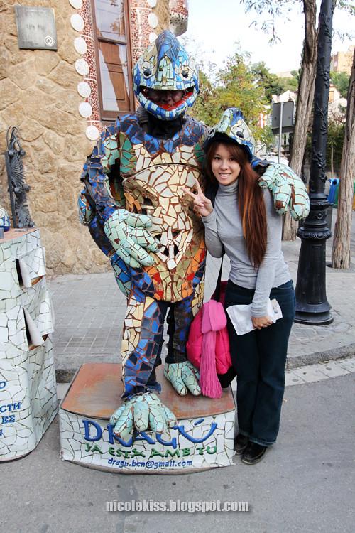 lizard man and i
