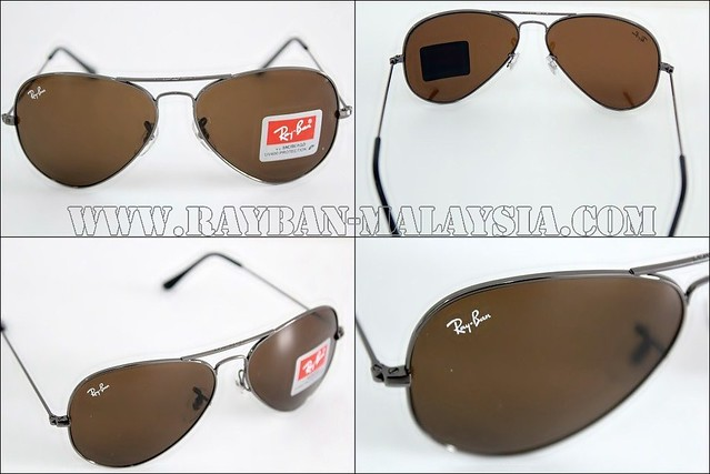 Aviator 3025-GunMetal Brown COMBINE